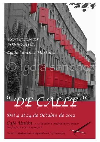DE CALLE. INVITACION